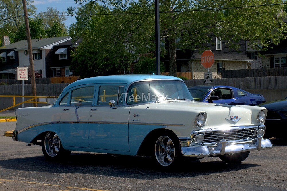 1956 Chevrolet 4 Door by TeeMack