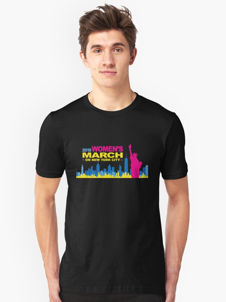 women's march 2018 Unisex T-Shirt Front