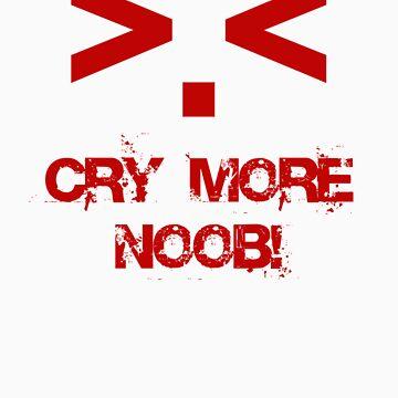 Cry more N00b by jon86