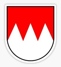 Franconia Coat of Arms, Germany Sticker