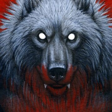 Werewolf Portrait by HKLuterman