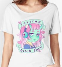 Resting Bitch Face Women's Relaxed Fit T-Shirt