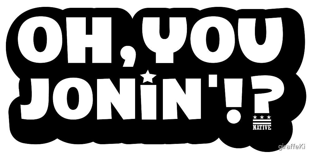 Oh You Jonin' (citizen) by giraffeKi