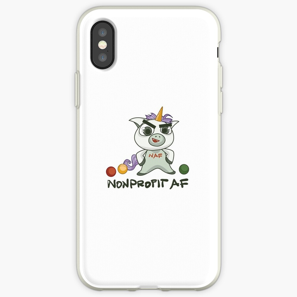 Die gemeinnützige AF-Linie - Weil Sie ein Einhorn sind iPhone-Hülle & Cover