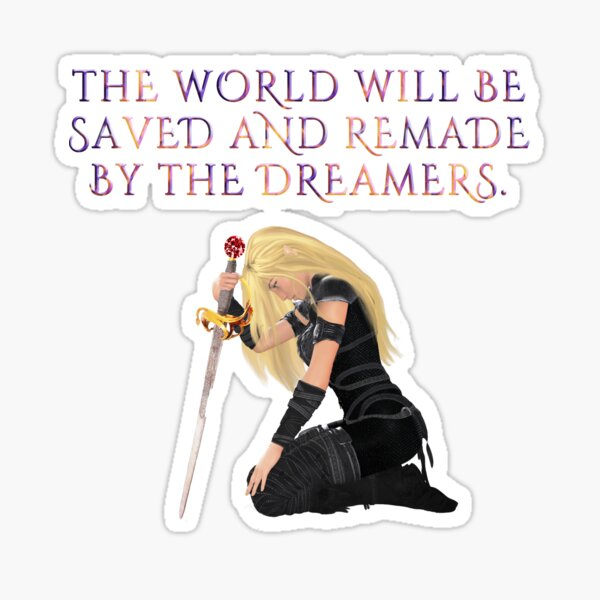 Throne of Glass Sticker