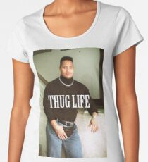 Throwback - Dwayne Johnson Women's Premium T-Shirt