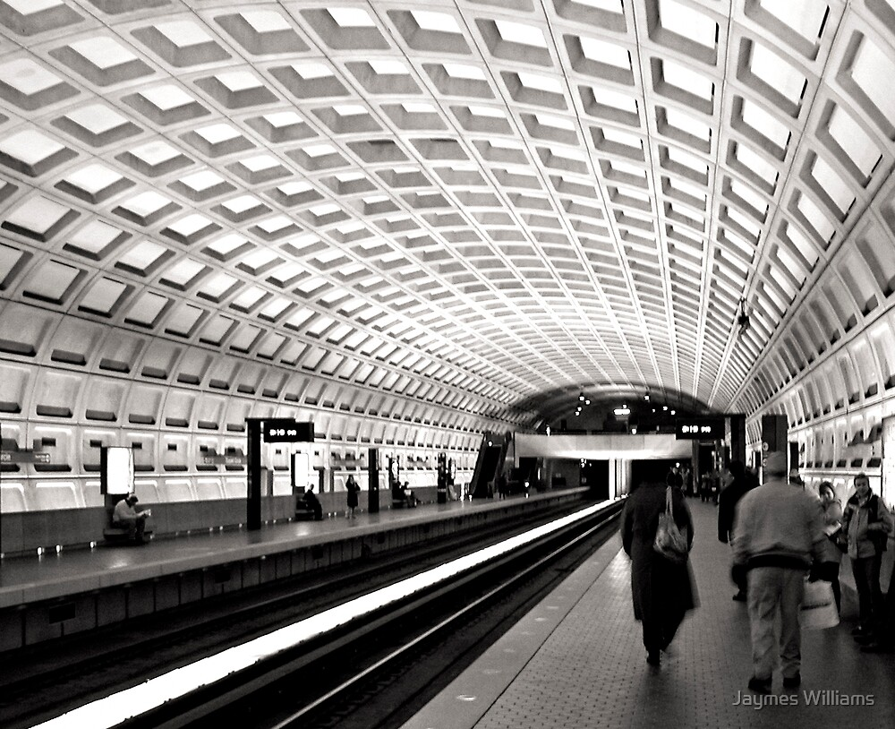 Waiting for the Metro, Washington DC by Jaymes Williams