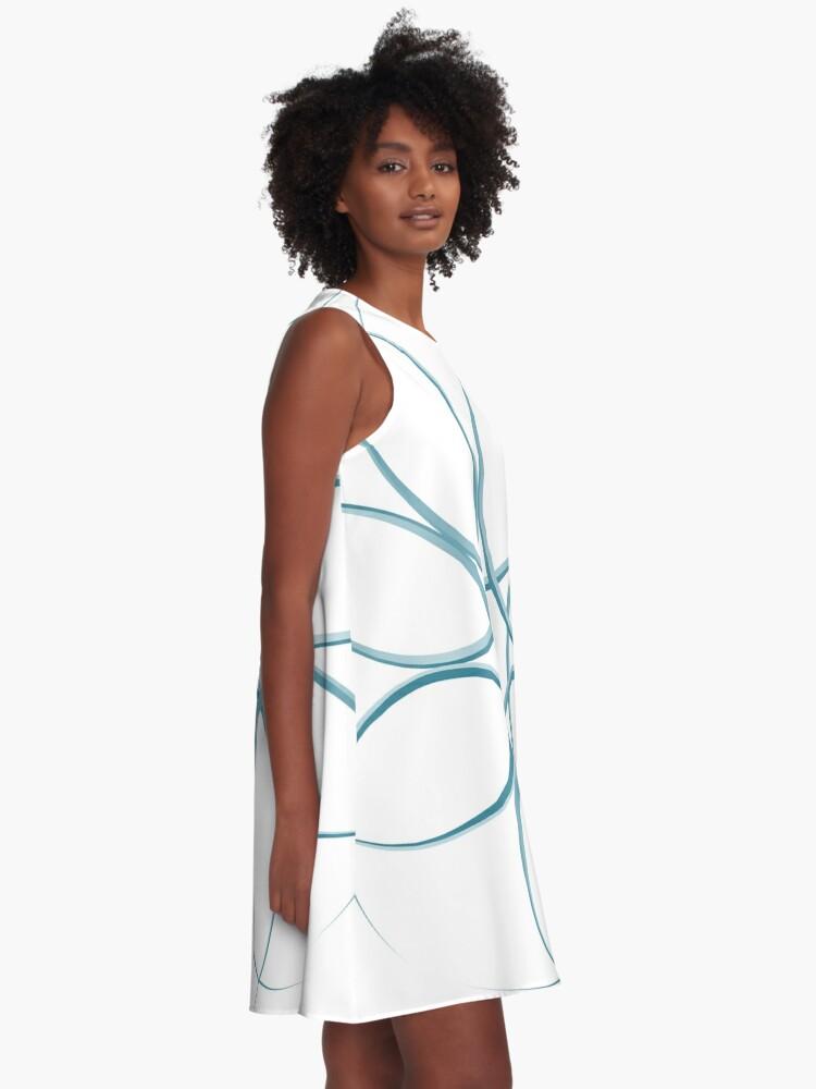 Alternative Ansicht von Hazard A-Linien Kleid