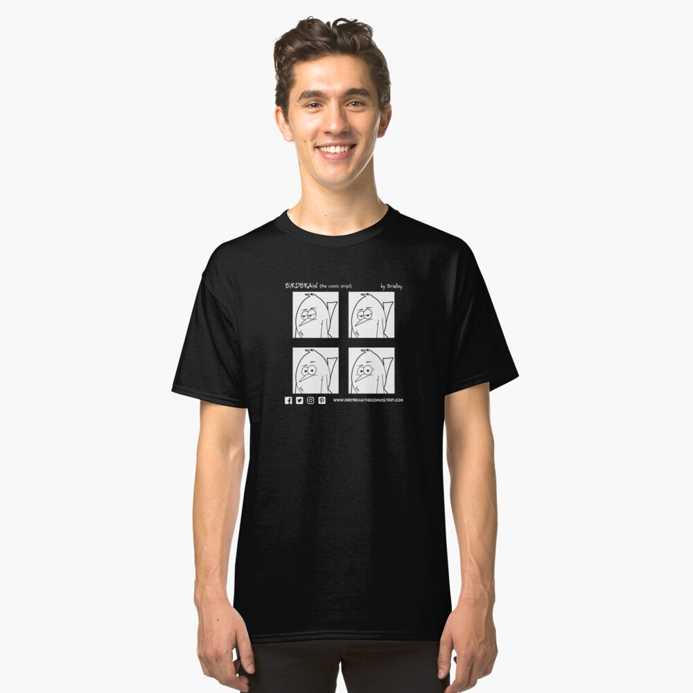 BiRDBRAiN squares T-Shirt Classic T-Shirt Front