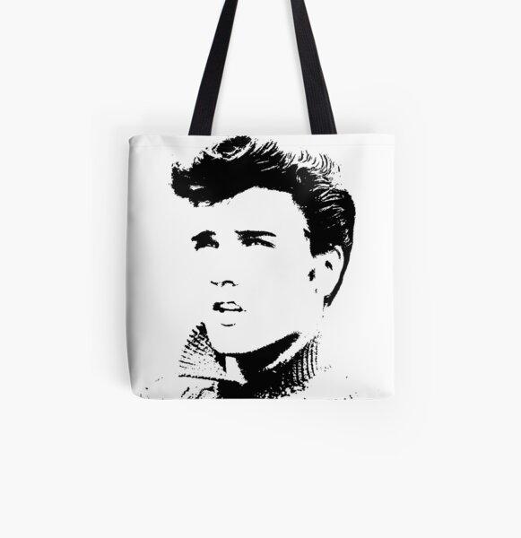 Elvis Presley All Over Print Tote Bag