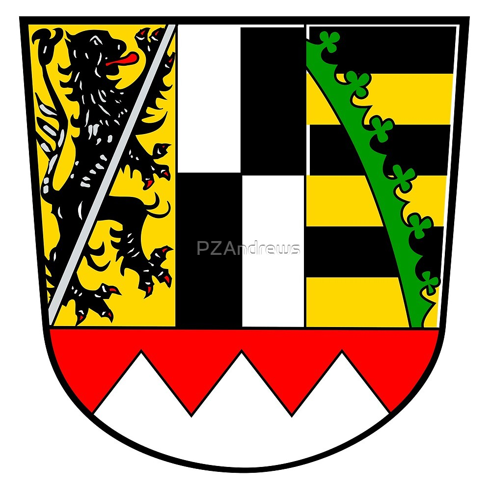 Oberfranken coat of arms, Germany by PZAndrews