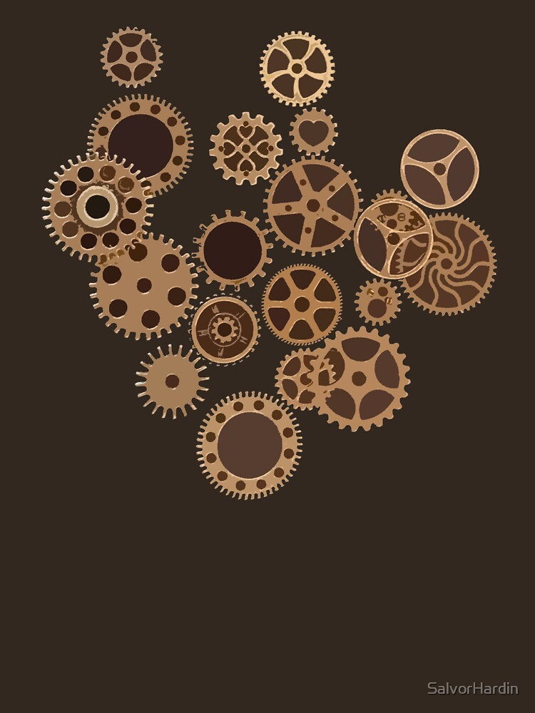 Cogs and Wheels by SalvorHardin