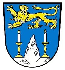 Lichtenfels (town) coat of arms, Germany by PZAndrews