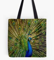 Peacock Eyes Tote Bag