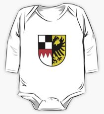 Middle Franconia coat of arms, Germany One Piece - Long Sleeve