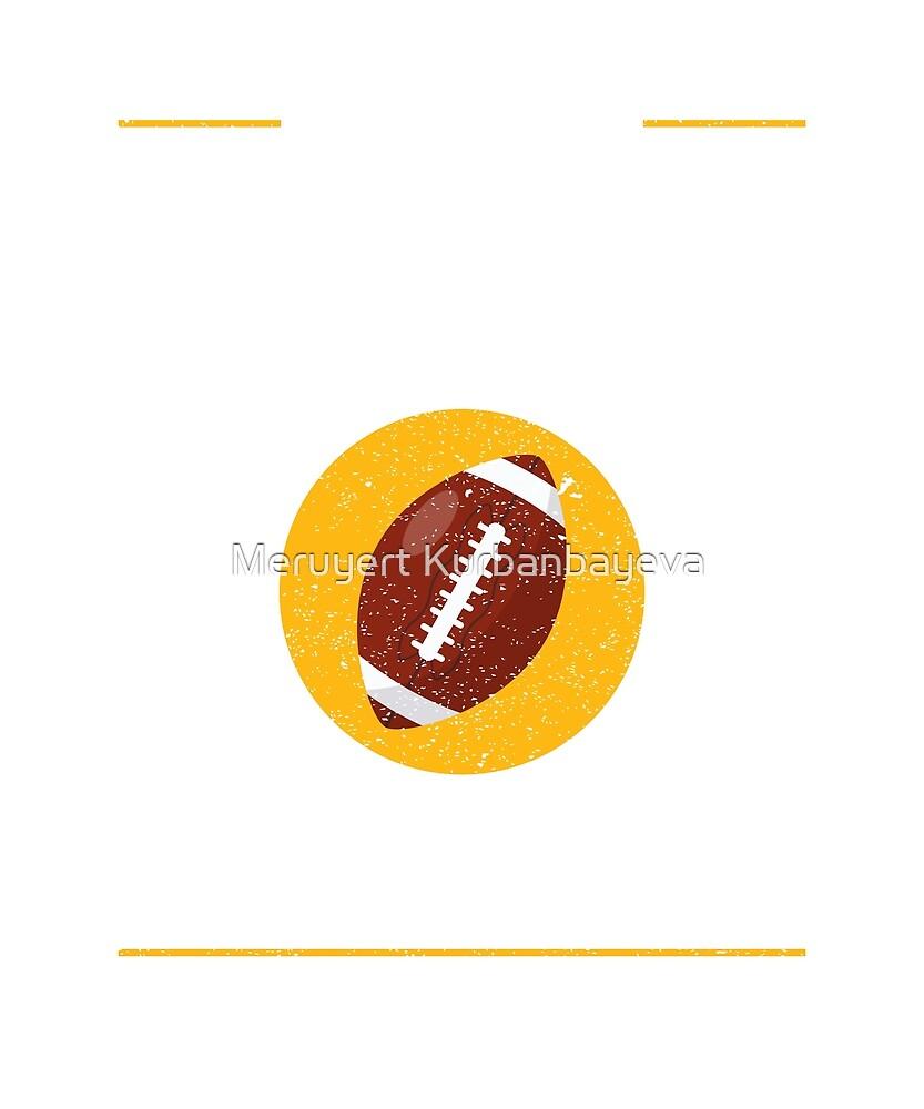 If you play Football Funny Sports Men and Women T-shirt by Meruyert Kurbanbayeva