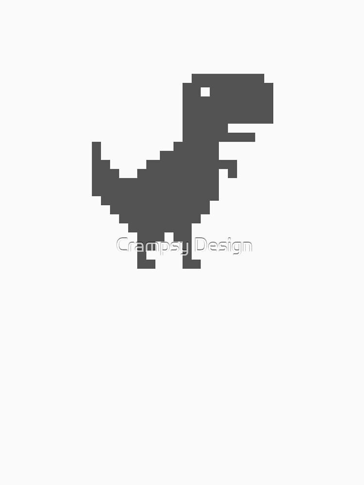 Google Chrome T-Rex by Crampsy