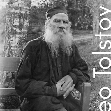 Leo Tolstoy by LiterateGifts