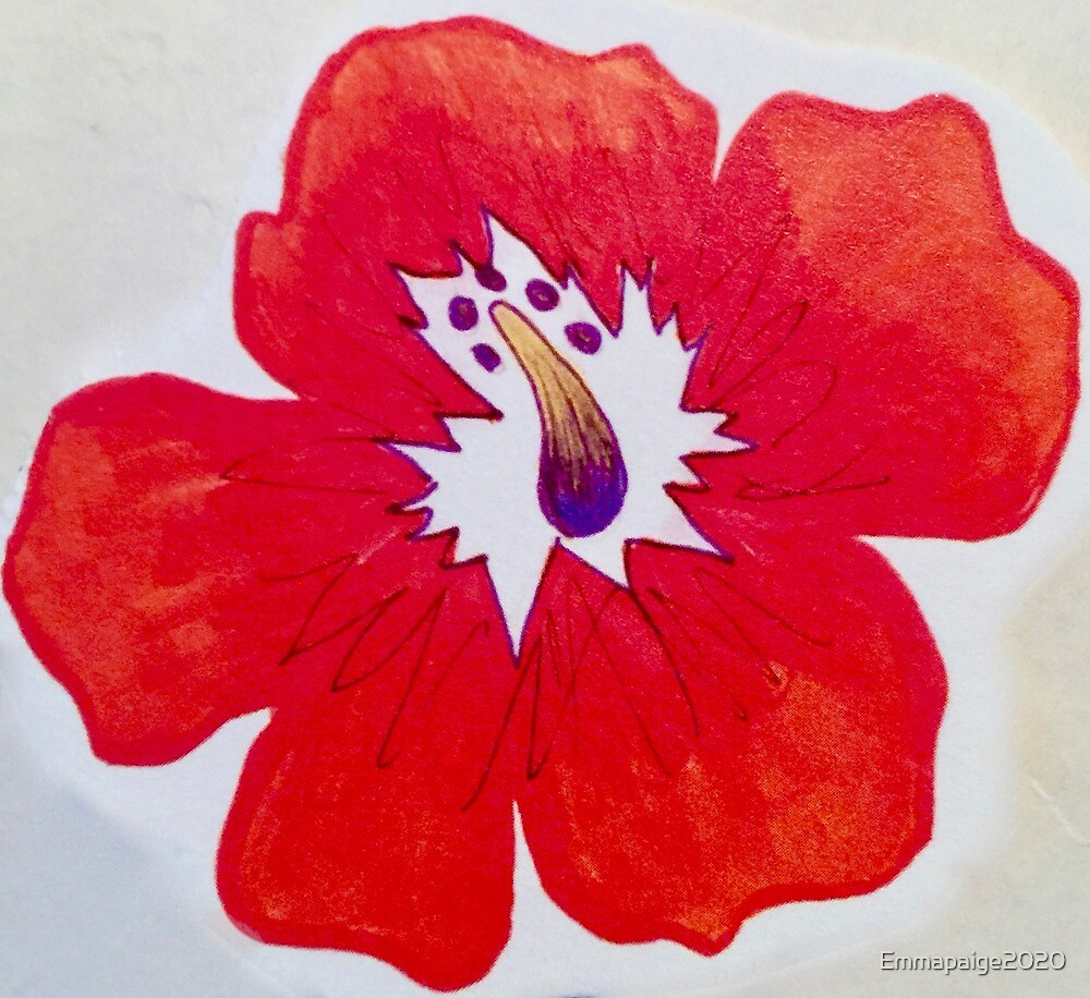 Ashleigh's Hibiscus by Emmapaige2020