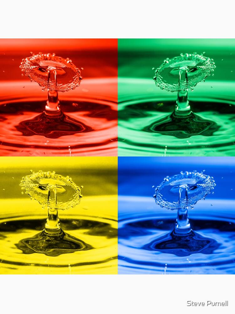 Pop Art Water Drops 2 by silversnapper1