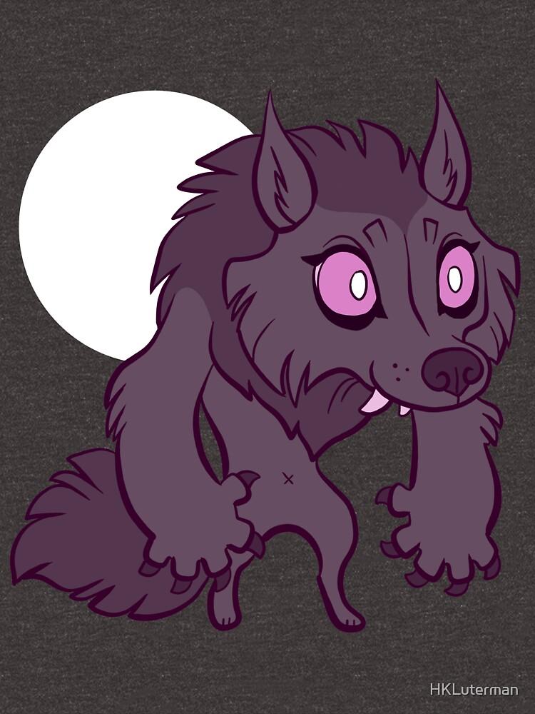 Chibi Werewolf by HKLuterman