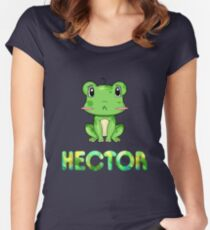 Hector Frog Women's Fitted Scoop T-Shirt