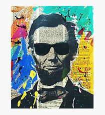 Cool Abraham Lincoln Photographic Print