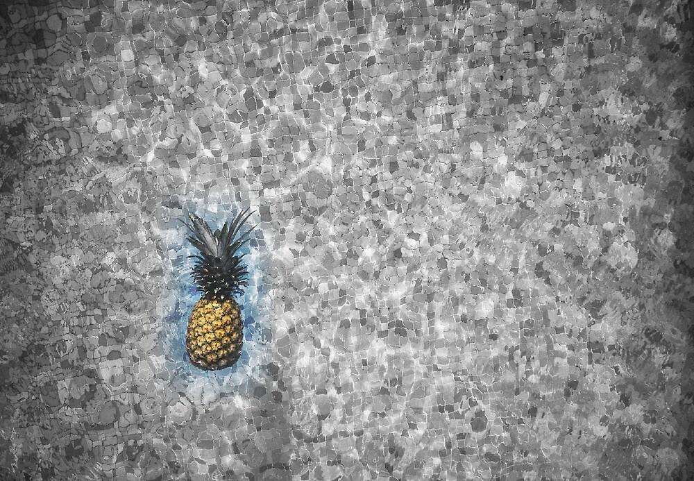 pineapple swim by Ricochamberlan