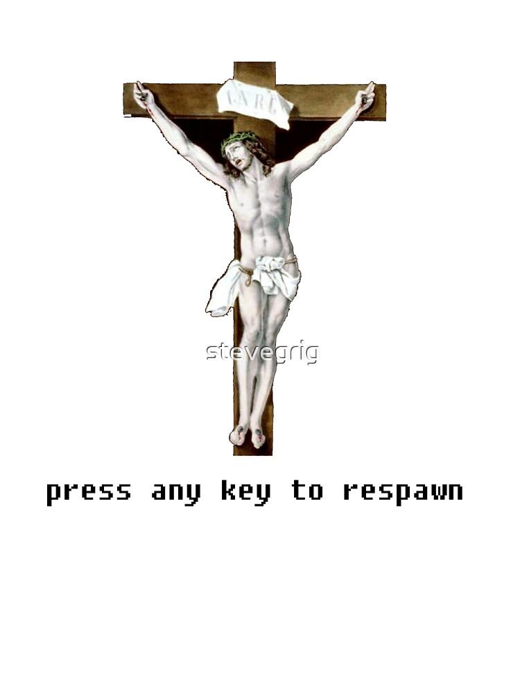 press any key to respawn by stevegrig