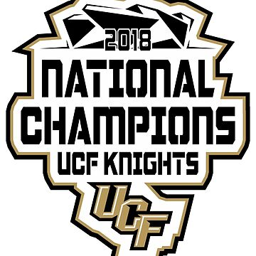 UCF KNIGHTS NATIONAL CHAMPIONS 2018 by RayanCarver