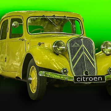 Citroen Traction Avant . by Kit347