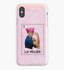 AntiTrump Resistance Movement La Mujer Rosie  iPhone Case