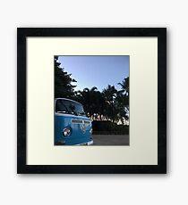Volkswagen Vibes Framed Print