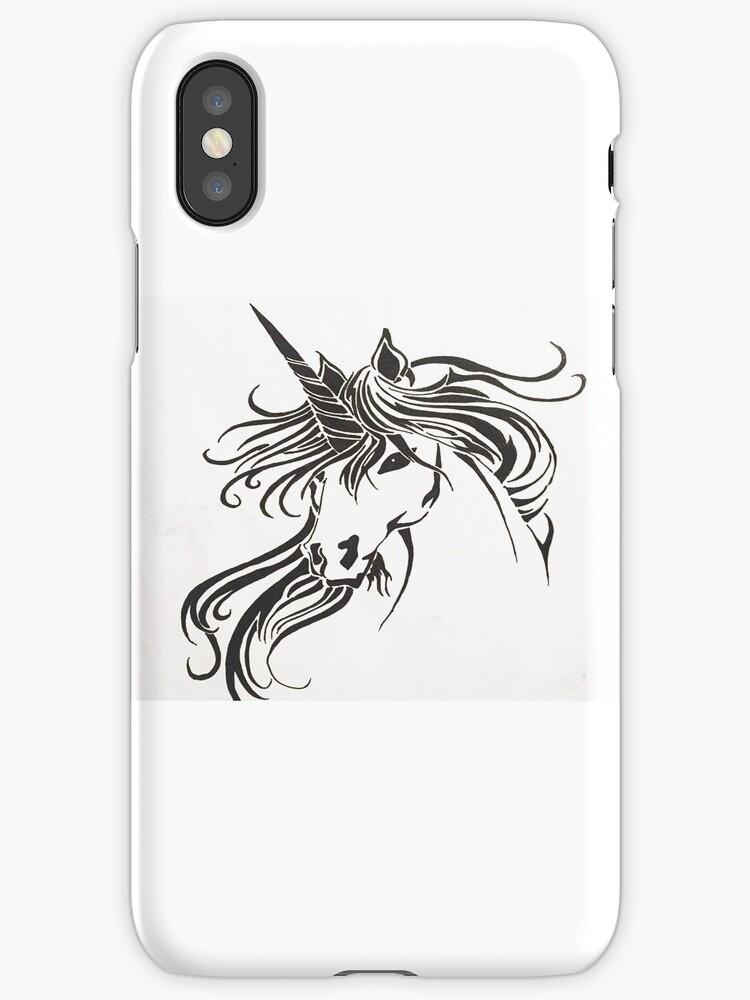 Tribal Unicorn by Anachan20