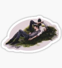 Flowers in Your Hair Sticker