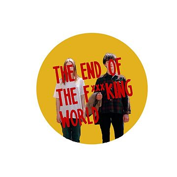 The end of the F***ing World logo cut out by ShayMcG