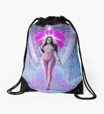 """""""I Will Give You My Heart"""" Drawstring Bag"""