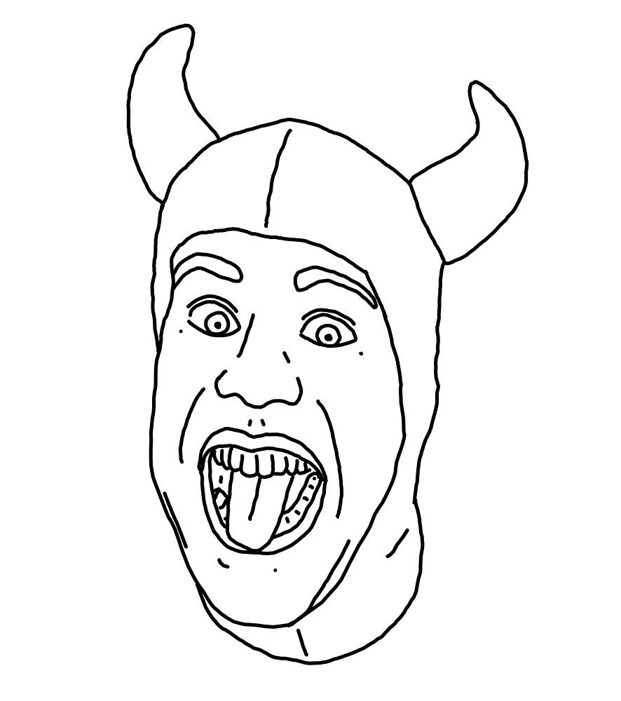 Chris Pontius Devil by tabasco666