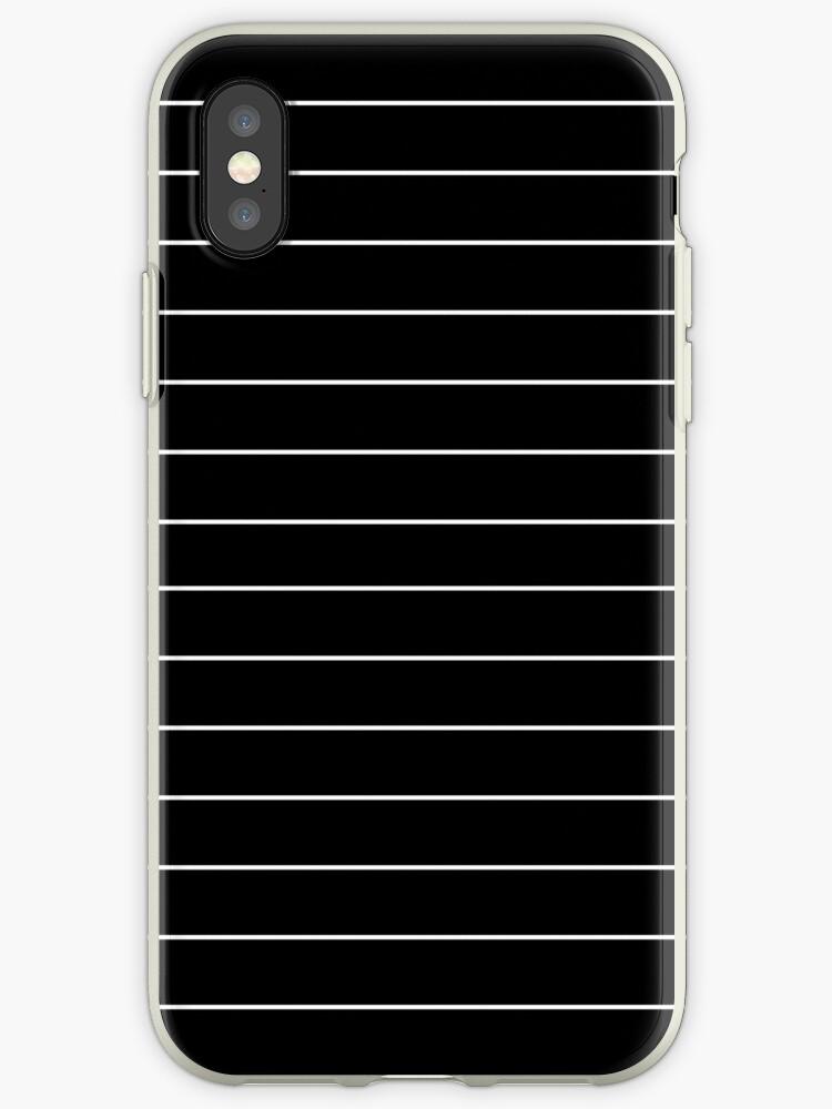 Black/White Horizontal Stripes by sidebar