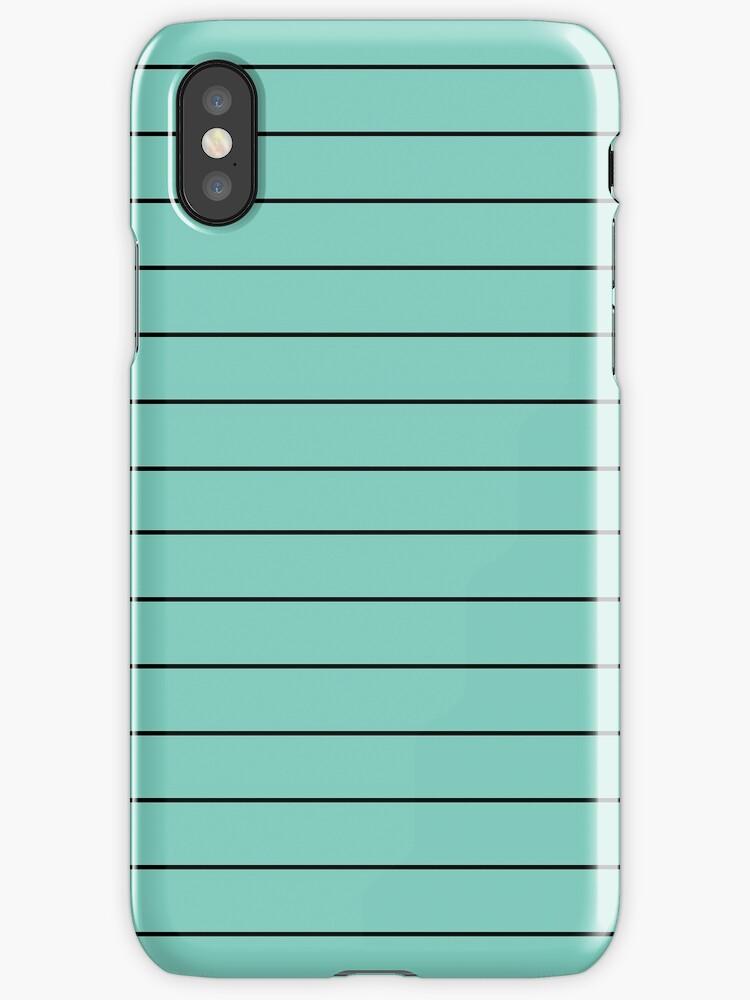 Cyan/Black Horizontal Stripes by sidebar