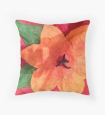 Ashleigh's 3-D Hibiscus Throw Pillow