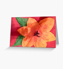 Ashleigh's 3-D Hibiscus Greeting Card