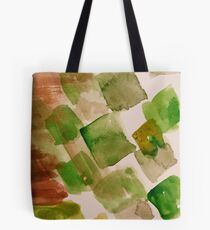 abstract painting rectangle Tote Bag