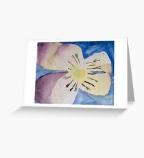 Ashley's Watercolor Lily Greeting Card