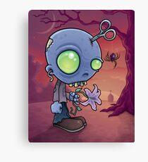 Zombie Jr. Canvas Print
