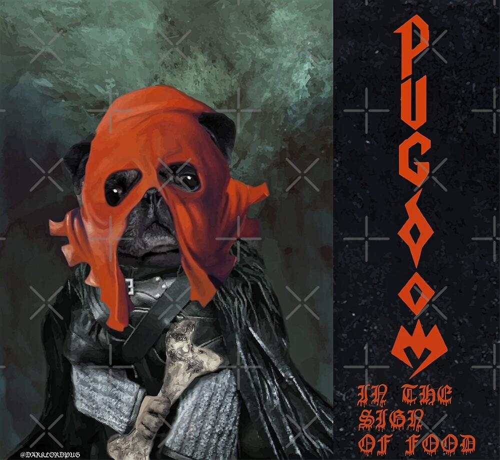 Pugdom by darklordpug