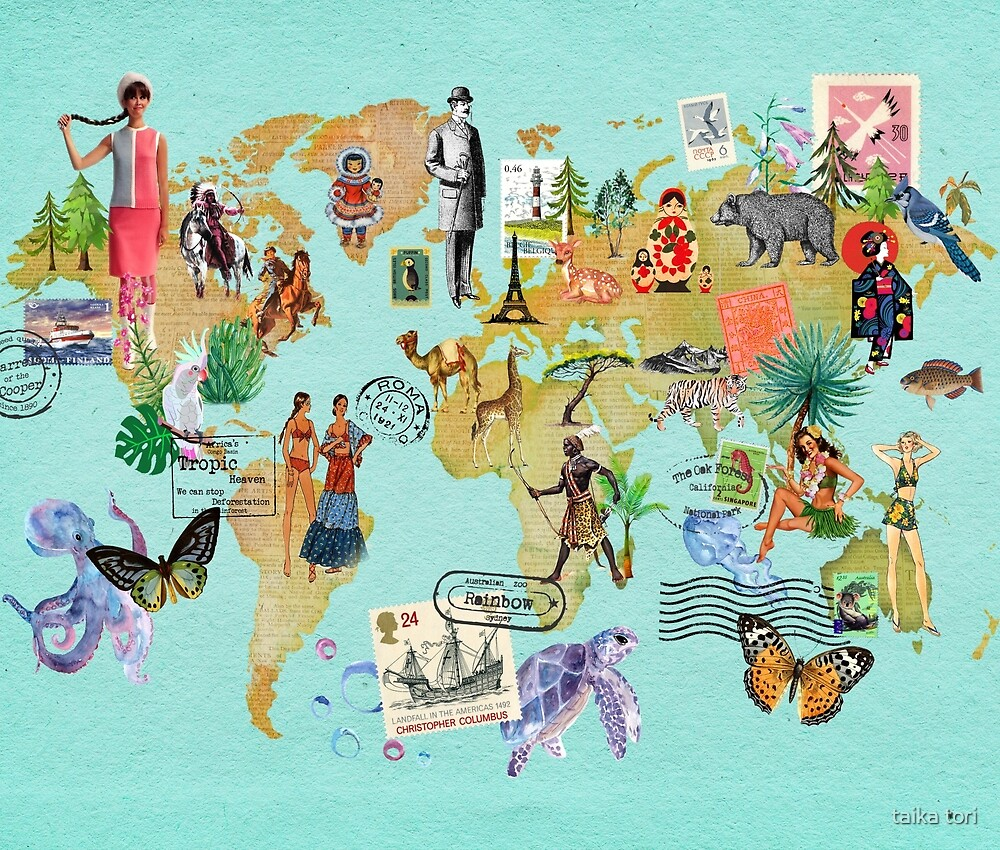 Our vintage World by Elisandra Sevenstar