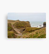 Trevelgue Head Cliffs Canvas Print
