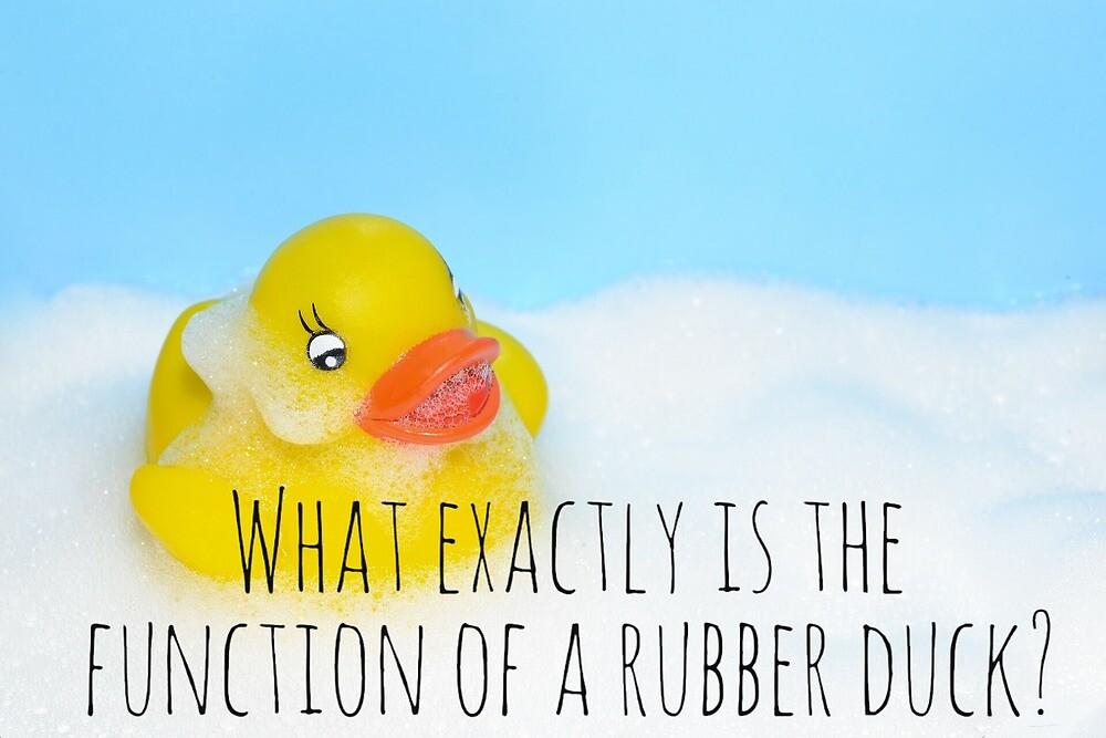 Rubber Duck by thenerdyburrow