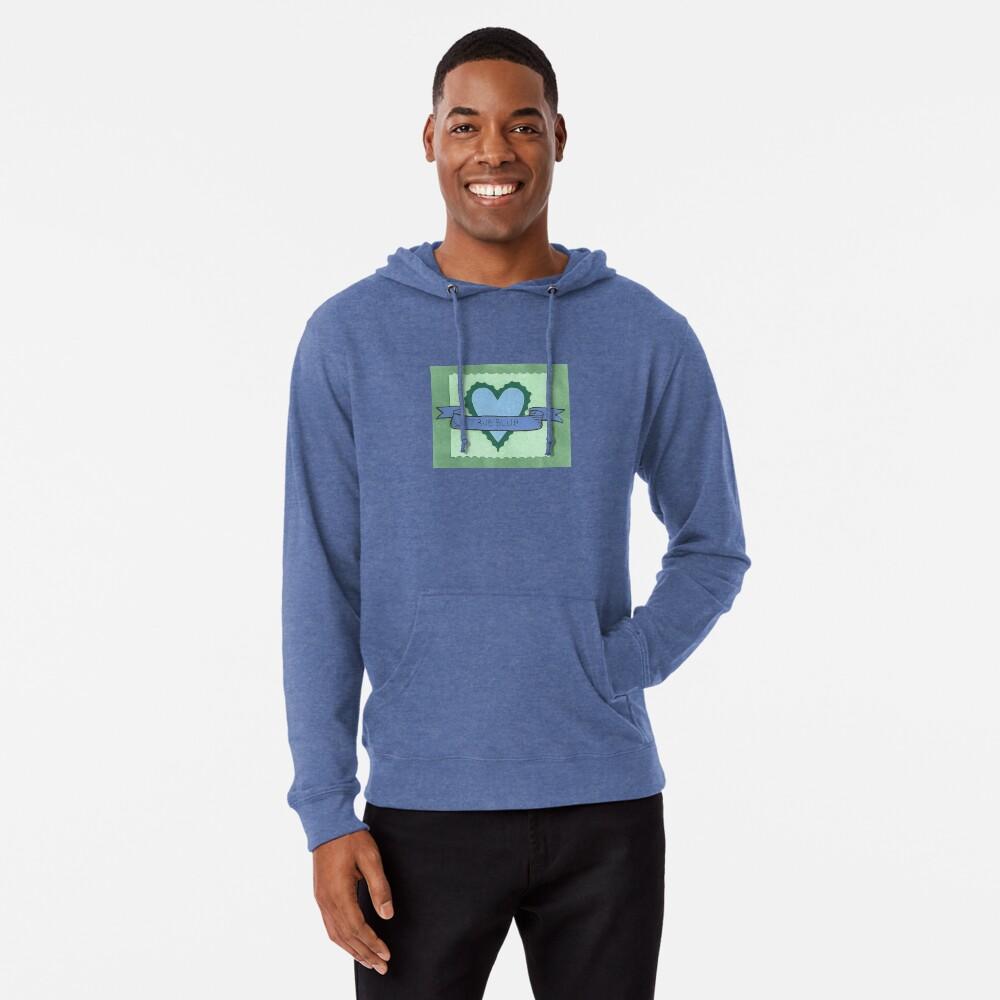 True Blue Lightweight Hoodie Front